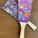 廃材利用製品「羽子板」の写真